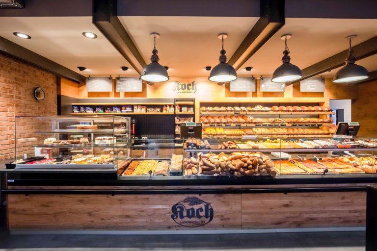 Landbäckerei Koch Ladenumbau - Thekenfront