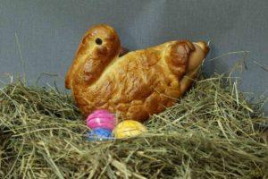 Ostern mit Storch bei der Landbäckerei Koch