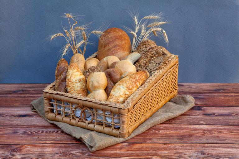 Landbäckerei Koch - Brote und Brötchen im Korb