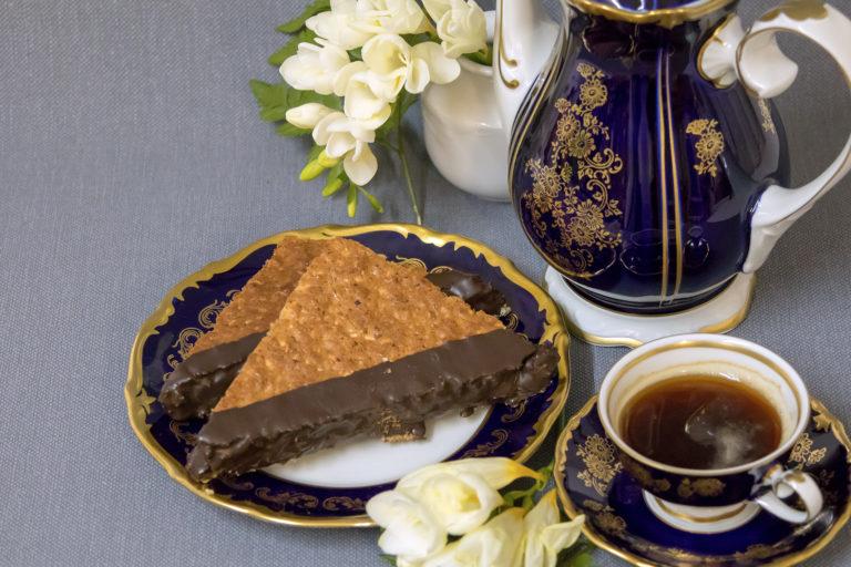 Landbäckerei Koch - Kaffee und Kleingebäck: Nussecken