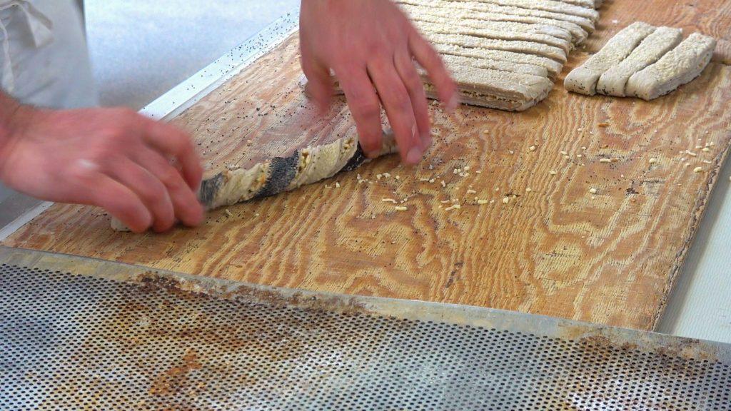 Produkte - Kleingebäck: Knusperstangen Zubereitung