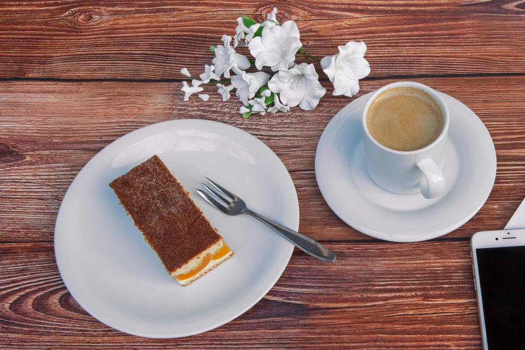 Landbäckerei Koch - Kaffee und Kuchen: Nasser Kuchen
