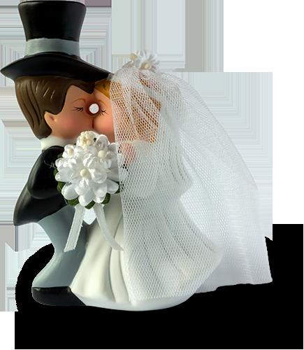 Torten: Hochzeitstorte - Standard-Brautpaar
